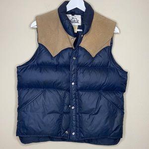 Vintage Woolrich Down Puffer Vest